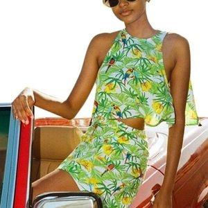 American Apparel tropical set